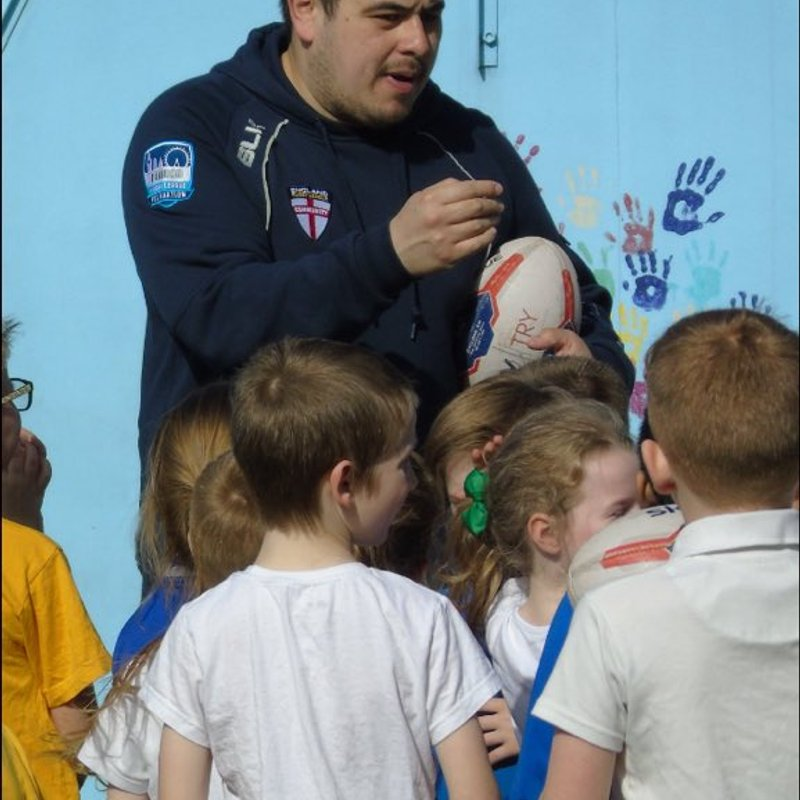 Medway Dragons hit the Primary Schools.