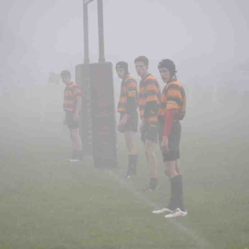 Selby RUFC U16's vs Dinnington Lions - 21st October 2012