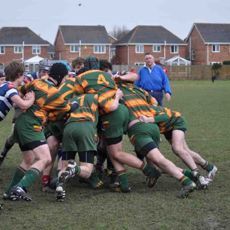 Selby RUFC U16's vs Driffield - 3rd March 2013