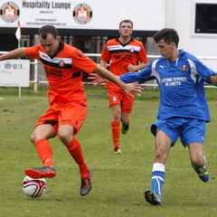 Conwy Downed by Bull Hat-trick
