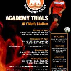 Academy Trial Dates