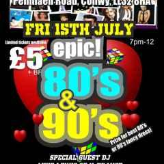 80's / 90's Night Postponed!