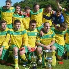 Caernarfon Town Claim a League Double