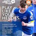 Everton FC Soccer Schools at Y Morfa Stadium