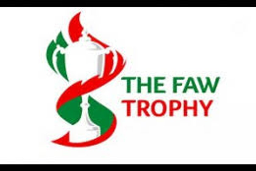 FAW Trophy: Conwy Borough FC v Llanfair United FC 1330pm KO: Saturday 13 January