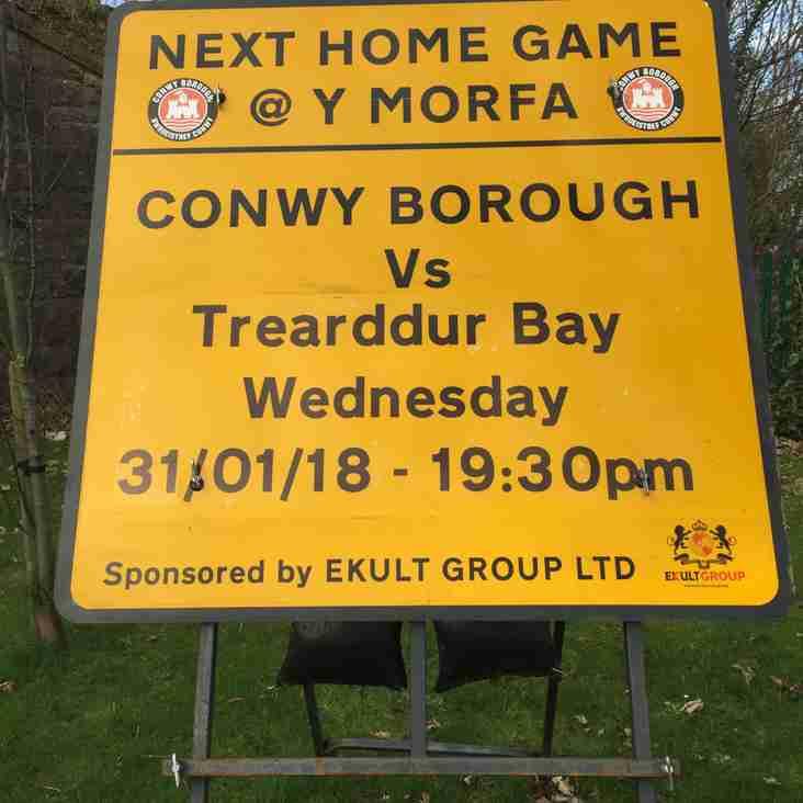 Match Report - Conwy Borough FC v Trearrdur Bay United FC