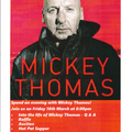 Mickey Thomas Evening - Postponed
