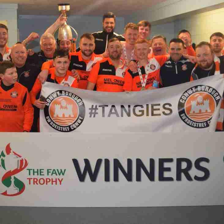 FAW Trophy Final - Match Report - 7 April