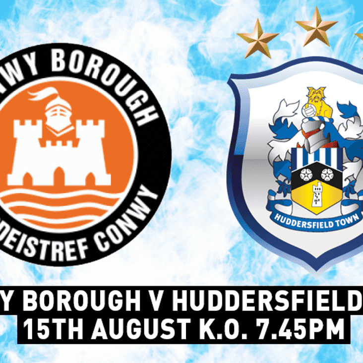 Borough to host Huddersfield Town FC