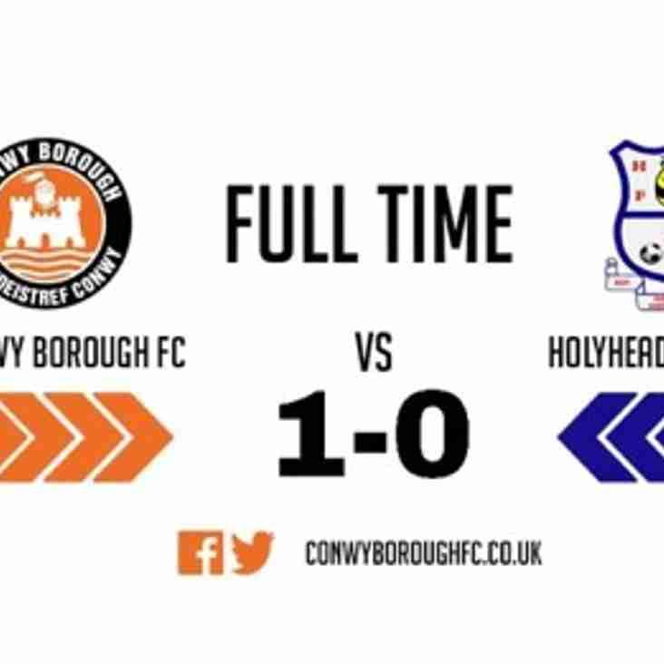 Match Report - Holyhead Hotspur FC