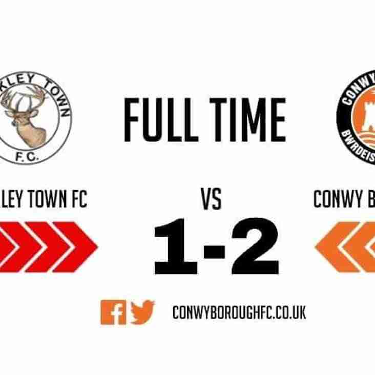 Match Report - Buckley Town FC