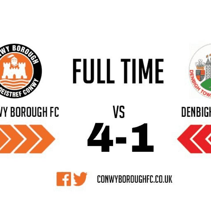 Match Report - DenbighTown FC