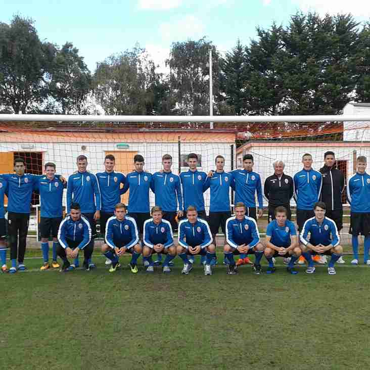 Liechtenstein U21s Train at Y Morfa