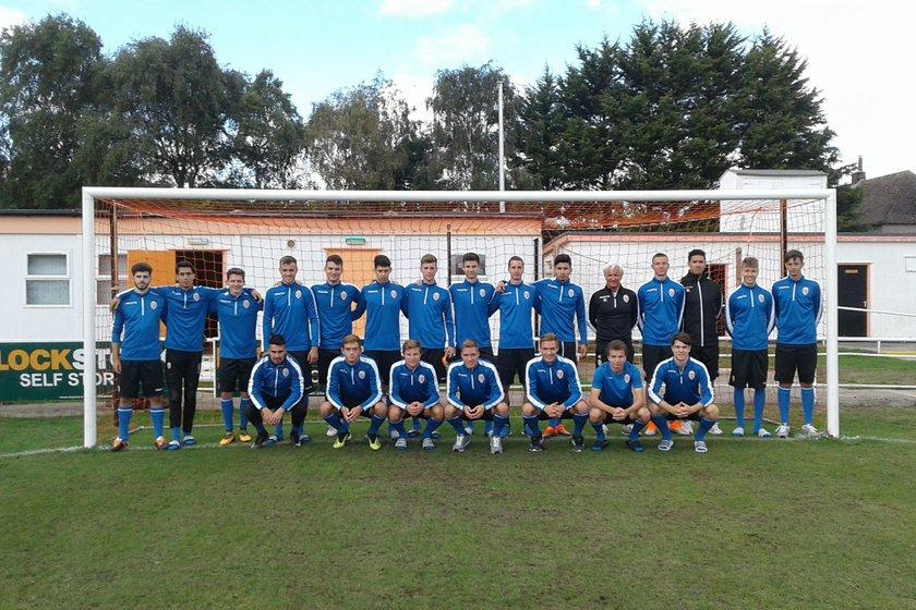 Liechtenstein U21s Train at Y Morfa