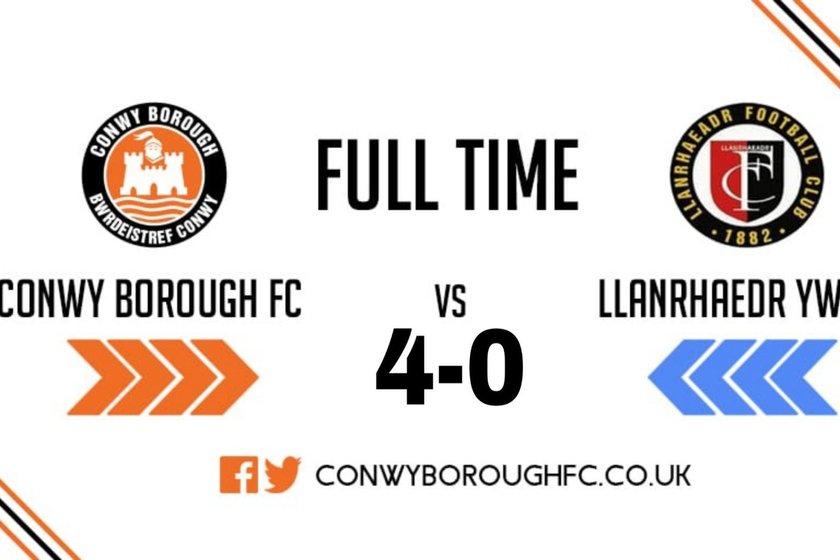 Match Report - Llanrhaeadr YM FC