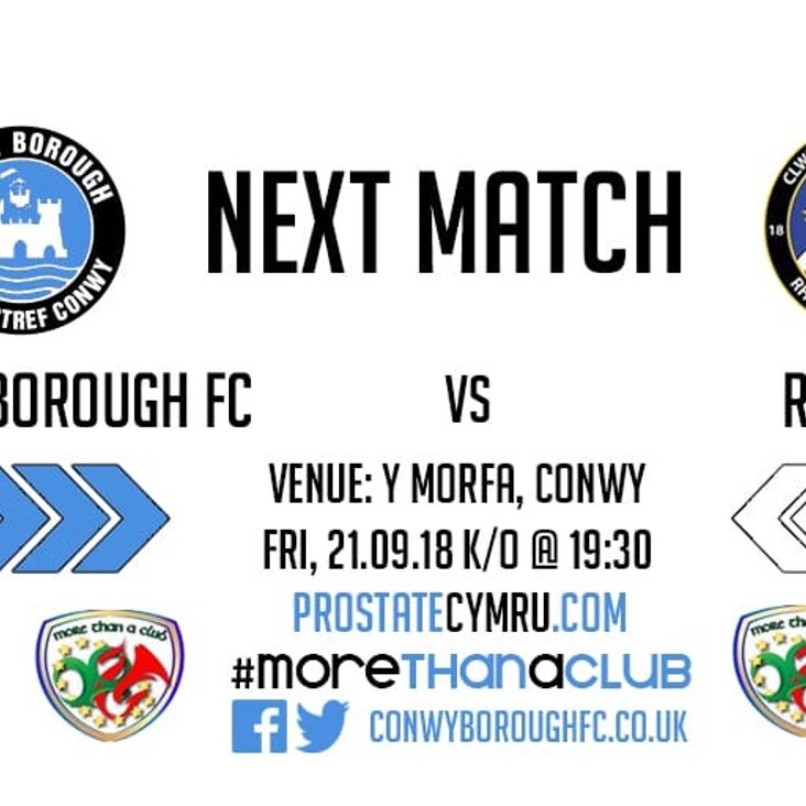 Match Preview - Rhyl FC<