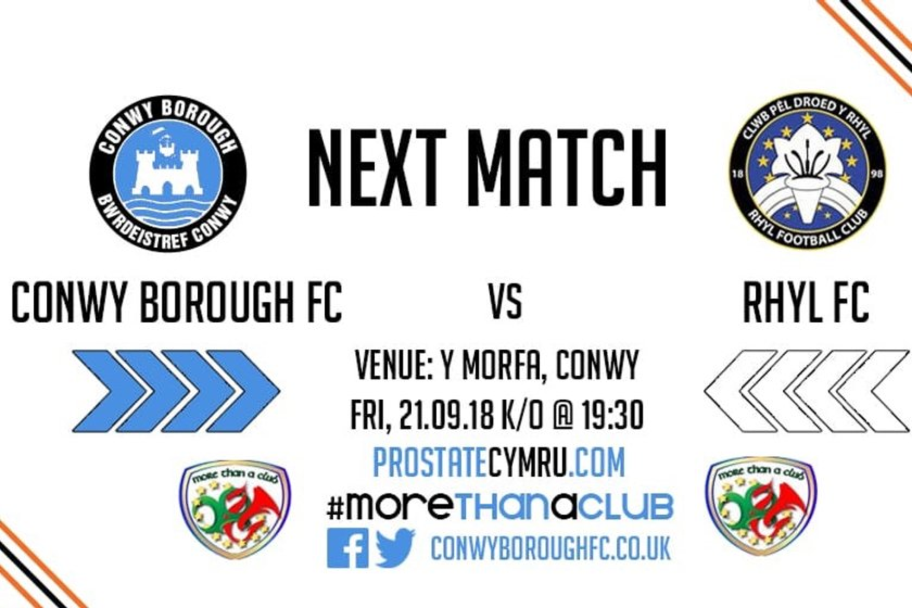 Match Preview - Rhyl FC