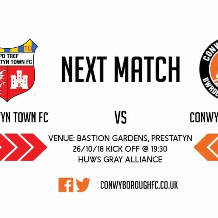 Match Preview - Prestatyn Town FC