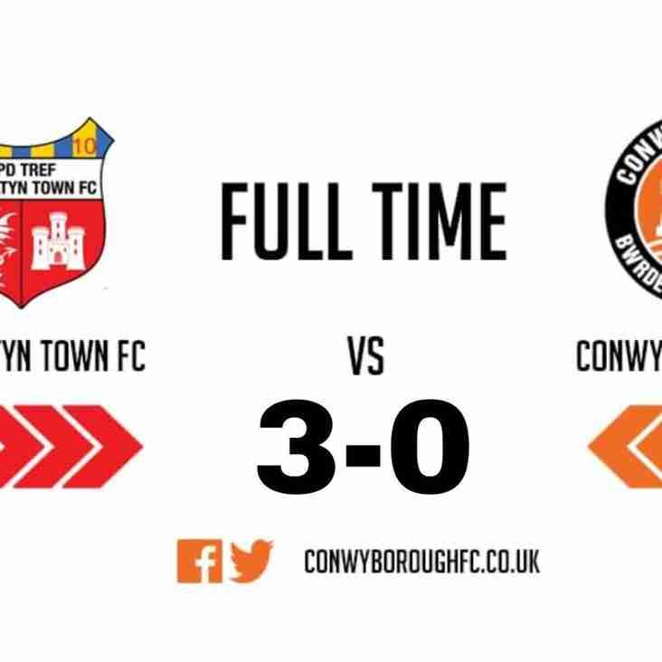 Match Report - Prestatyn Town FC