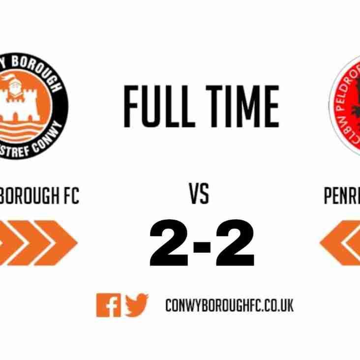 Match Report - Penrhyncoch FC