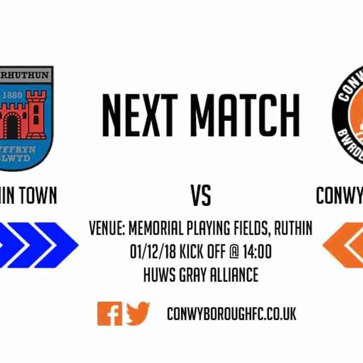 Match Preview - Ruthin Town FC