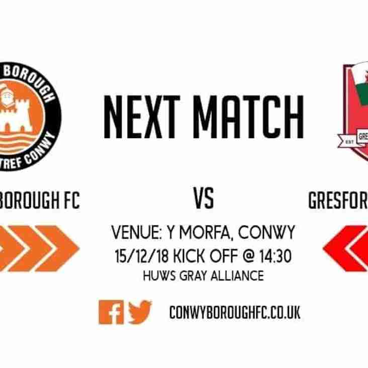 Match Preview - Gresford Athletic FC