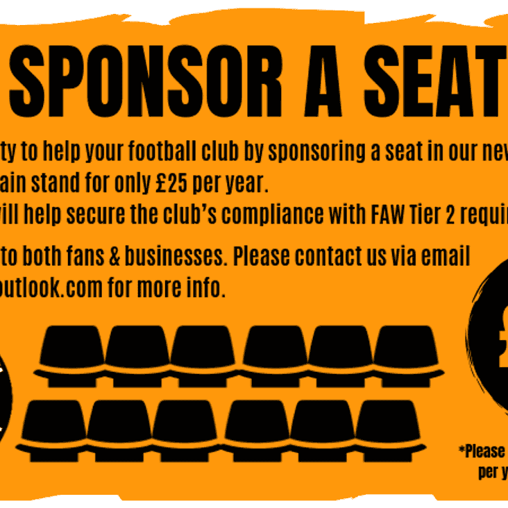New Stand - Sponsorship Opportunities.