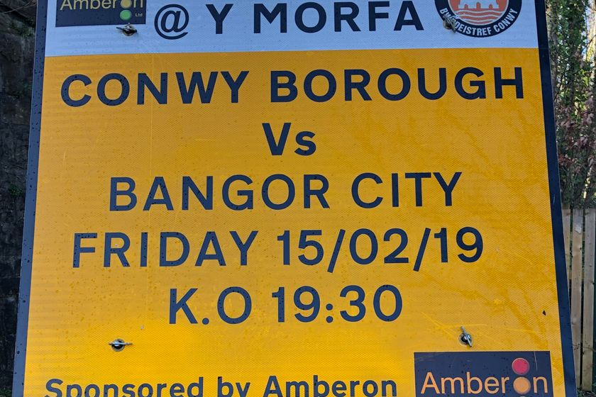Next Home Fixture - Bangor City FC