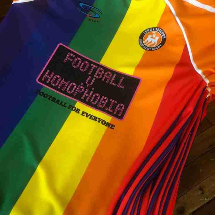Replica Shirts Available - Football v Homophobia