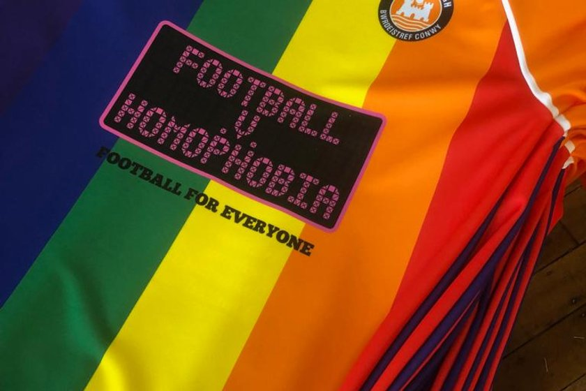 Replica Shirts Available - Football v Homophobia