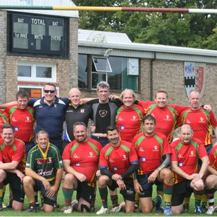 Great running Rugby at OB's Club Day