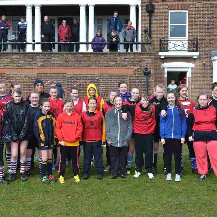 Girls' Taster day Success