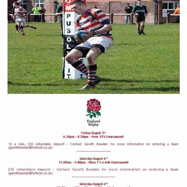 Novos Festival of rugby