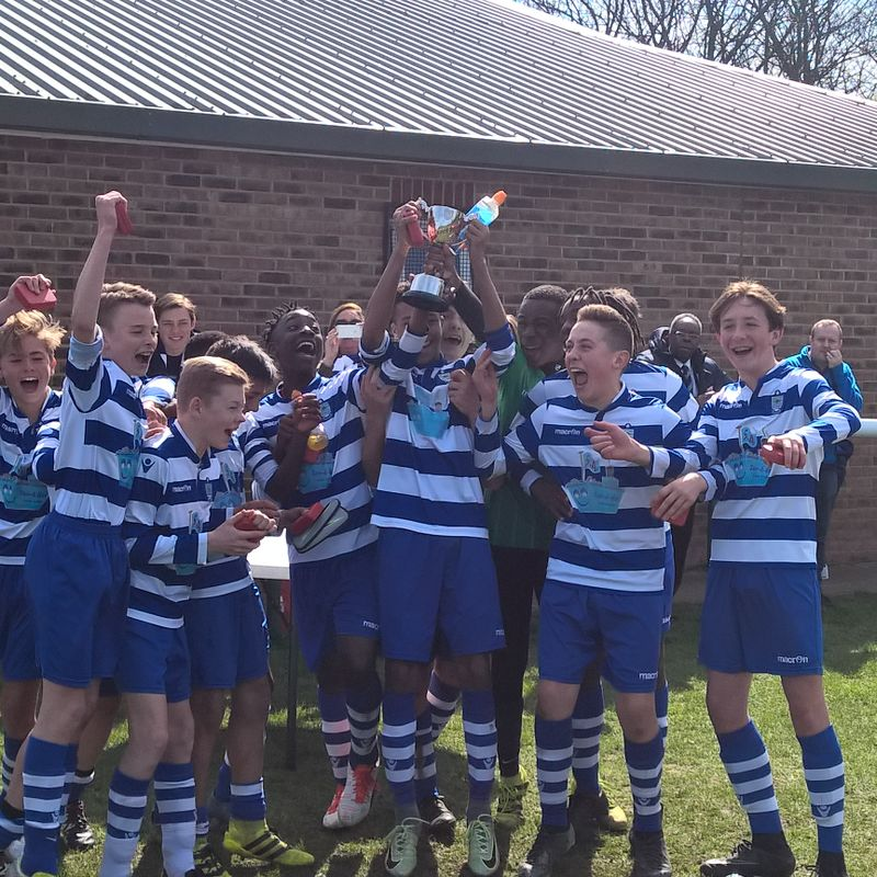 Under 14's win AFA Saturday Youth Cup
