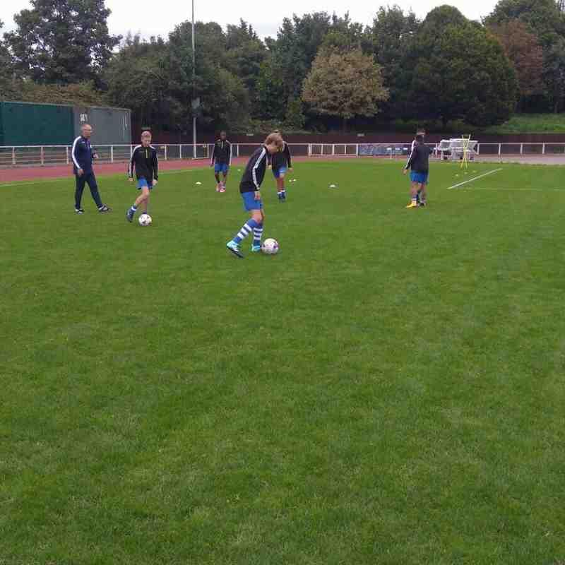 AFC Hornchurch V Ilford U15