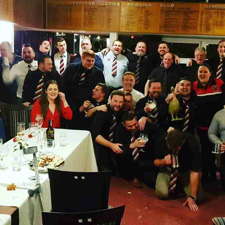 Uxbridge RFC- 2017/18 End of Season Award Winners