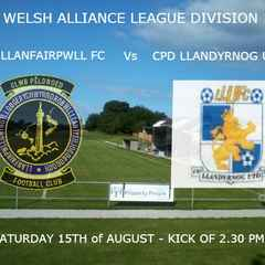 Llanfairpwll versus Llandyrnog Utd