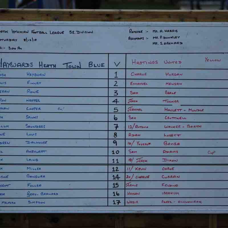 Heath Vs Hastings Utd by Tony Sim 8th Dec 18