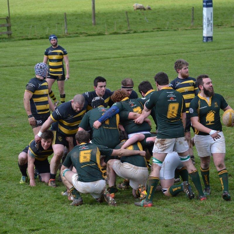 North Tawton battle hard vs champions Wessex