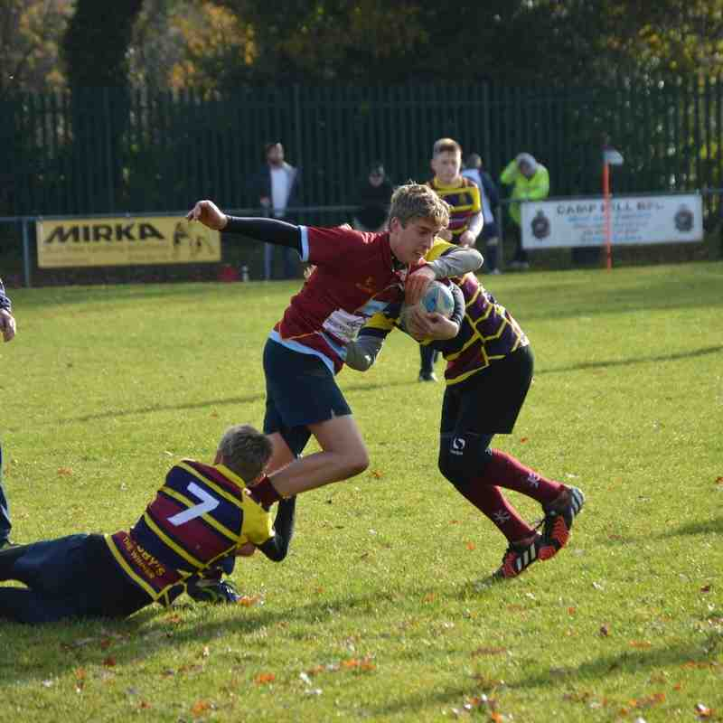 U14 camphill vs trinity