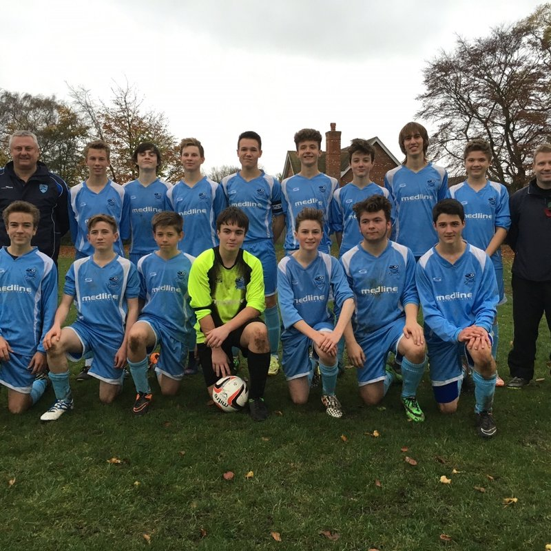 Under 17s beat Kidlington Youth Comets U17 1 - 2