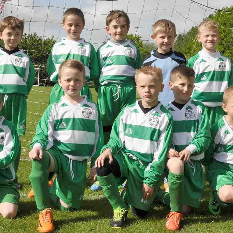 Priory Greens U9's Team Photos