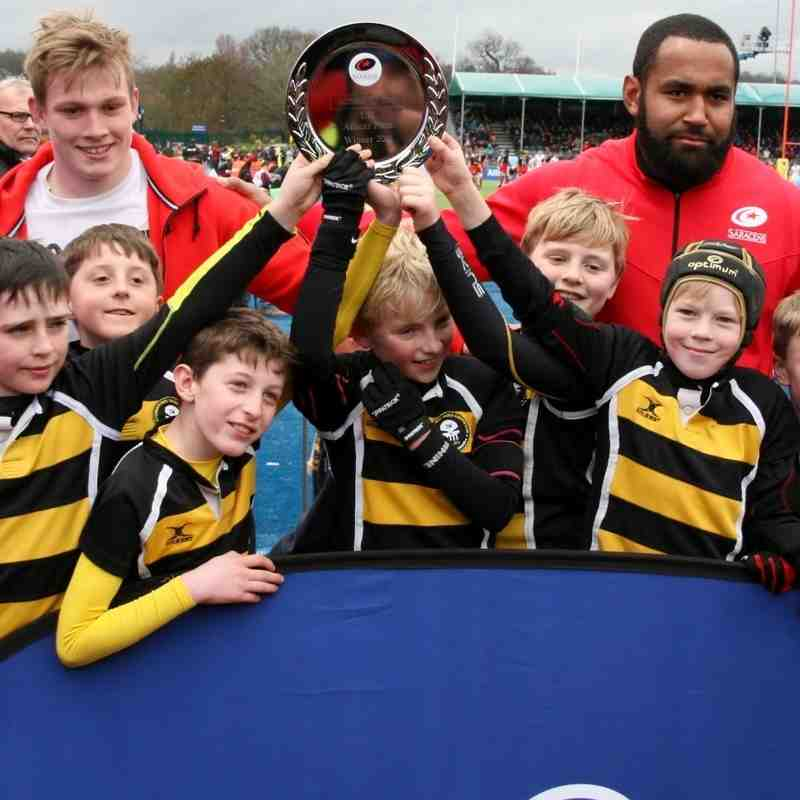 U10's Winners at Allianz Park 26th March 2016 - Well done boys, you make us so proud ! (part 2)