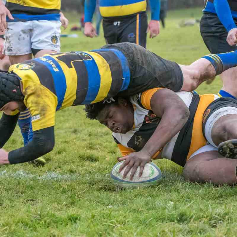 Coney Hill 2nds V Cheltenham Saracens 2nds