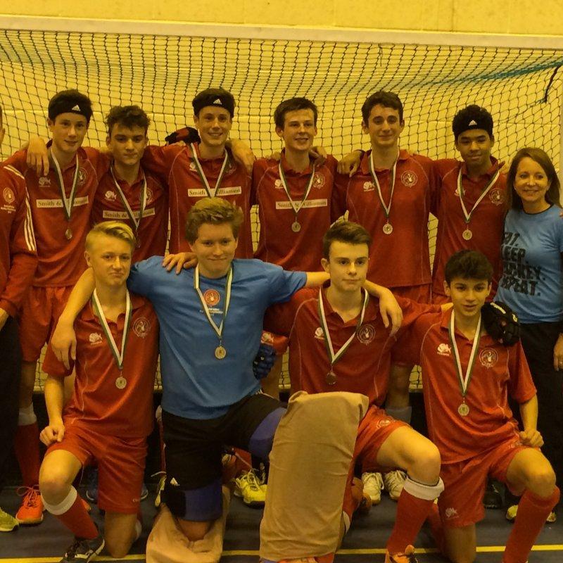 U16 Boys Indoor Clubs South Rounds - Canterbury vs. Marlow Hockey Club