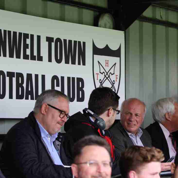 Greg Dyke At Hanwell Town Football Club