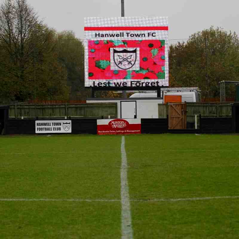 Hanwell Town v Frome Town