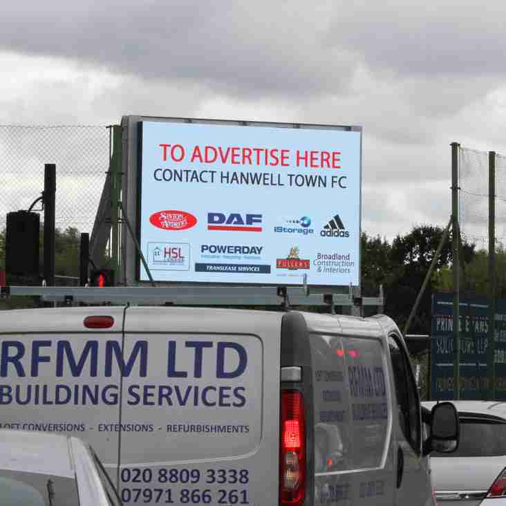 New LED advertising screen