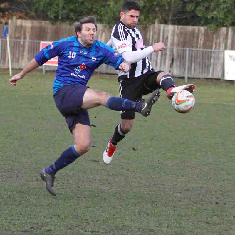 Fleet Town v Hanwell Town Feb 2018