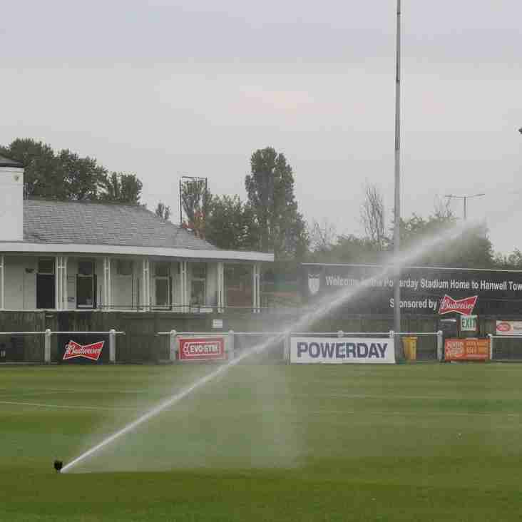 Hanwell Town Invest in New pitch drainage and pop up irrigation system